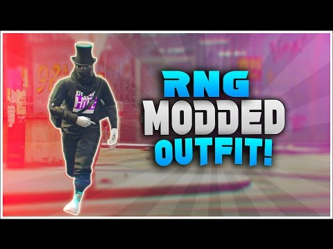 GTA 5 ONLINE *RNG MODDED OUTFIT* USING CLOTHING GLITCHES 1.39
