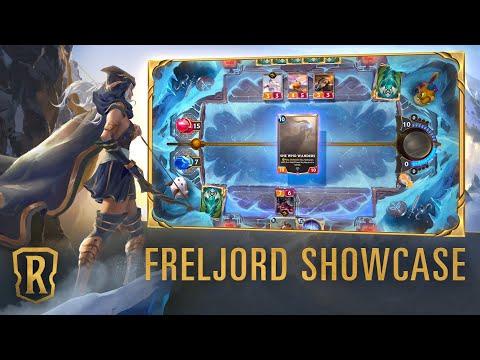 Freljord Region Showcase | Gameplay - Legends of Runeterra