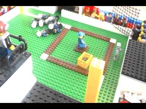 My Custom Lego Baseball Stadium - YouTube