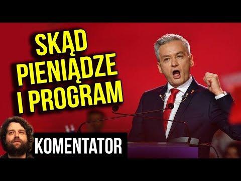 Wiosna Biedronia - Analiza Programu + Skąd Mają Pieniądze na Konwencję Wyborczą  Komentator Polityka