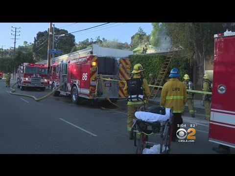 2 Dead, 2 Hurt In Music Studio Fire In Universal City