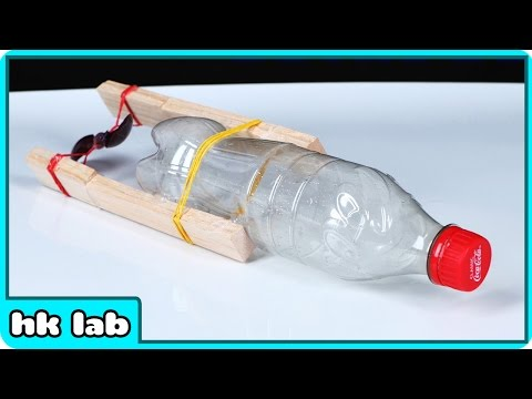 How To Make A Bottle Boat + How To Create Dinosaur Tracks at home Science Experiments