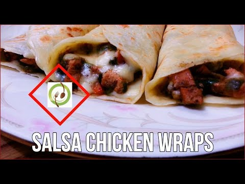 Salsa Chicken Wraps - Recipe By Food Gallery