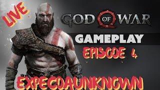 Live Gameplay of God of War 4 Episode 4. Let Gooo!!!