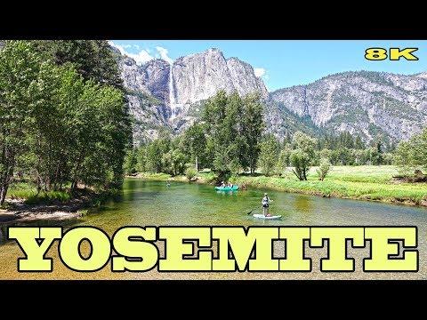 YOSEMITE NATIONAL PARK - CALIFORNIA 8K
