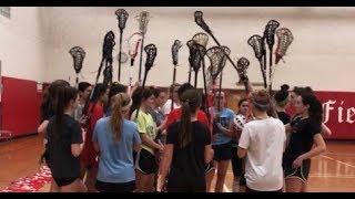 NR Girls Lax Pre-Season Training
