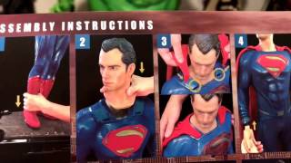 Batman vs Superman 1/2 scale Superman Statue by Prime 1 Studios unboxing