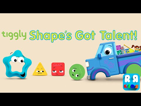 Tiggly Shape's Got Talent (By Tiggly) - iOS / Android - Gameplay Video