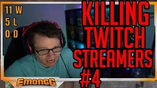 Killing Twitch Streamers with my Roadhog! w/ reactions #4 (Overwatch)