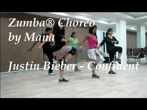 "Zumba®  - Song ""Justin Bieber - Confident"" choreo by Mana/Toning routine"