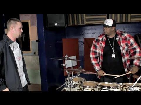 Okwerdz vs Eric Moore of Suicidal Tendencies (Rapper vs Drummer Battle)