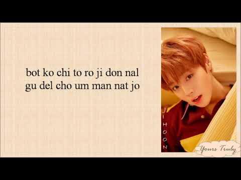 Wanna One (워너원) - I Promise U (I.P.U 약속해요) Easy Lyrics