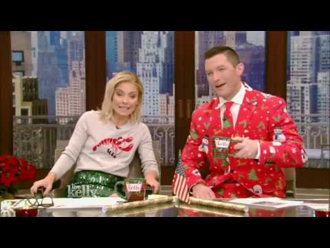 Live With Kelly 12/14/2016 co host Richard Curtis;Michael Fassbender