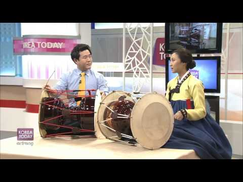 Korea Today - Janggu, Korea's Traditional Percussion Instrument [Korea Today]