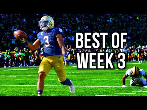 Best of Week 3 of the 2021 College Football Season - Part 2 ᴴᴰ