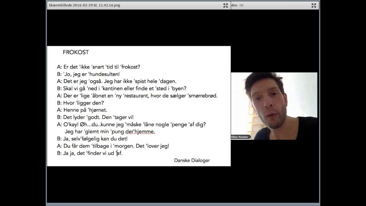 Tyske know dialoger