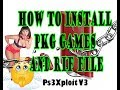 NEW PS3Xploit V3 How to Install And Play PKG Games On PS3 HAN