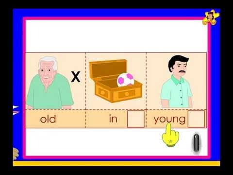 Printables Opposite Words For Kindergarten Students opposite words kindergarten worksheet 116 youtube 116