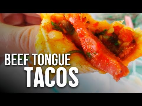 Trying Cow HEAD, EYE, & TONGUE Tacos | Street Food Mexico City