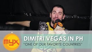 DIMITRI VEGAS Calls The Philippines One Of His Favorite Countries