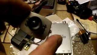 ebay $20 wireless spy cam modification
