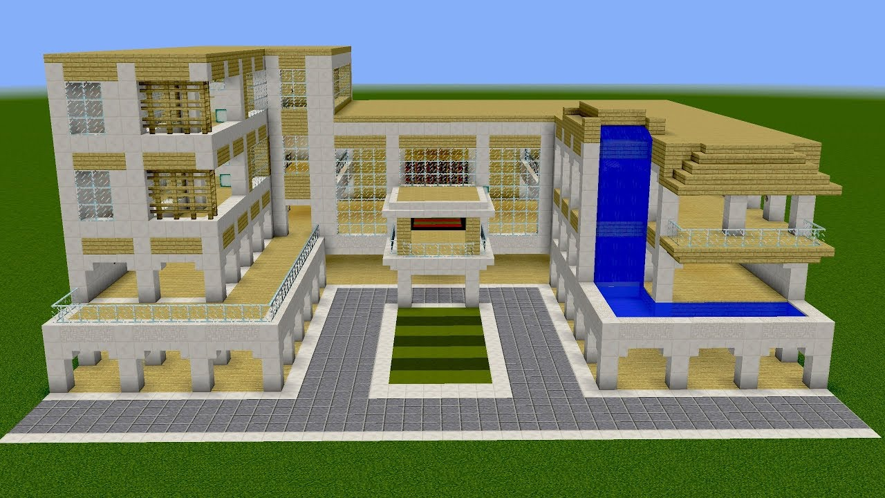 Minecraft  How To Build A Awesome House  Youtube