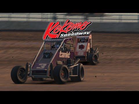 Midgets @ Kokomo Speedway S4 W3 R1 2018