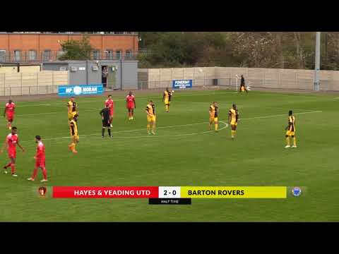 Hayes & Yeading v Barton Rovers - 7th Oct 2017