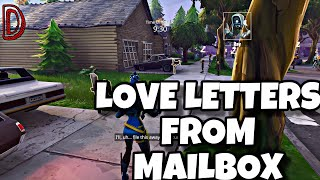 COLLECT LOVE LETTERS FROM MAILBOXES | FORTNITE SAVE THE WORLD