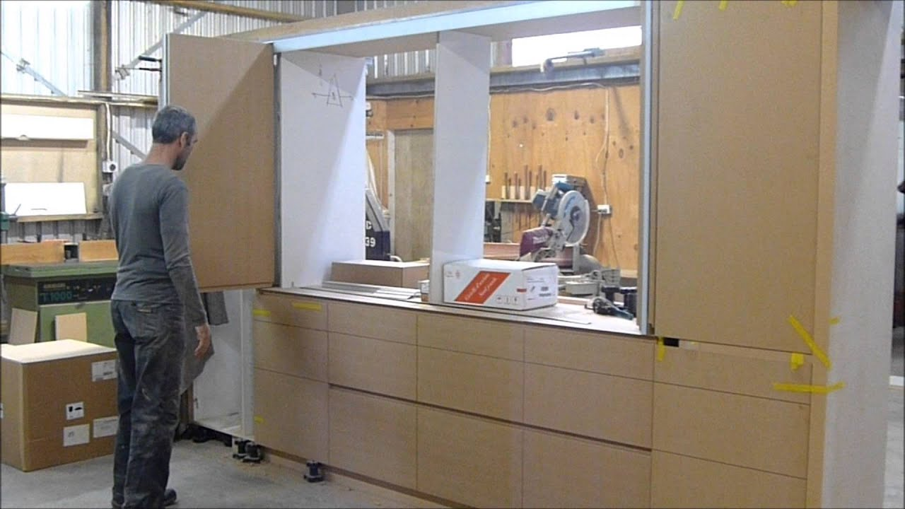 Hawa Concepta Folding Doors In Action Youtube
