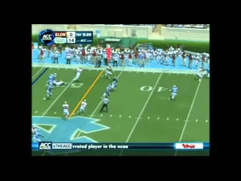 Sylvester Williams vs Elon 2012