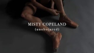 Misty Copeland (unobscured) by Gregg Delman