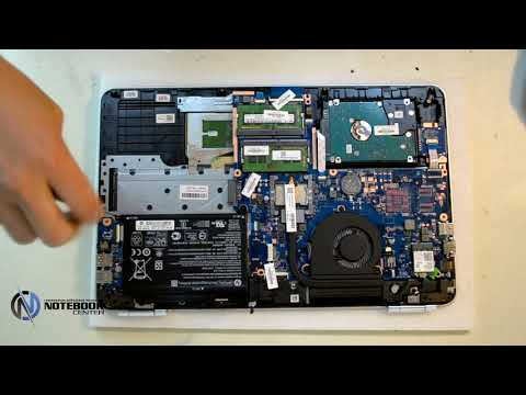 HP Pavilion 15 au123cl - Disassembly and cleaning