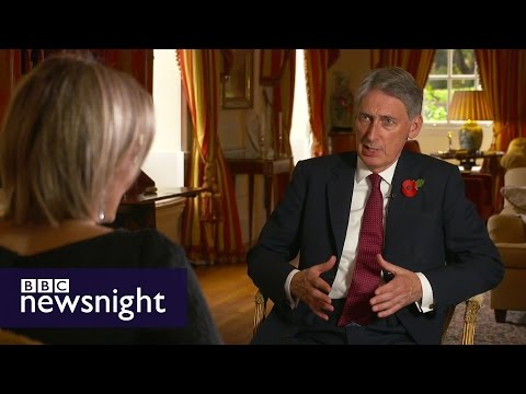 Philip Hammond: A vote on airstrikes in Syria should go ahead - Newsnight