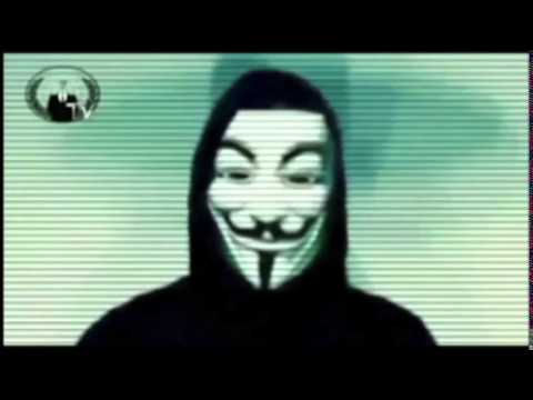 Anonymous Message to Facebook Users