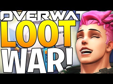 THE FIRST EVER OVERWATCH LOOT BOX BATTLE!?