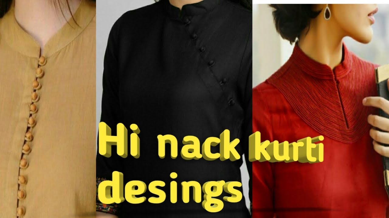Latest High Neck Designs For Kurtis Different Types Of Necklines To Try In Your Kurtis Latest Best Selling Shop Women S Shirts High Quality Blouses