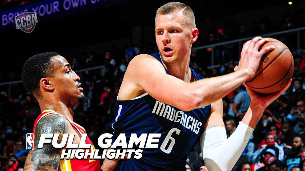 Download MAVS vs ATL HAWKS | FULL GAME HIGHLIGHTS | 2021 - 22 NBA SEASON