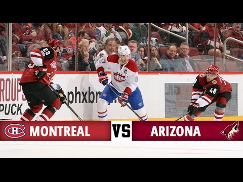 Montreal Canadiens vs Arizona Coyotes | Season Game 56 | Highlights (9/2/17)