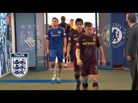 Man City 3-2 Chelsea - Community Shield 2012 - Tunnel Cam   Inside Access