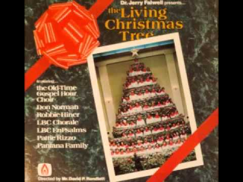 Dr Jerry Falwell - The Living Christmas Tree (Alabaster)