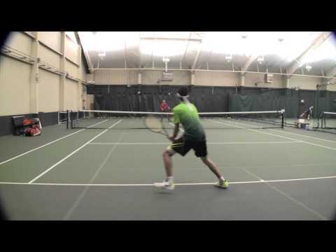 Brian Weisberg Tennis Recruiting Video Strokes