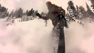 Ten Face Shots One Run Jackson Hole Backcountry Snowboard Thumbnail