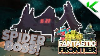 SPIDER BOSS LOCATION + HOW TO FARM IT! - Fantastic Frontier