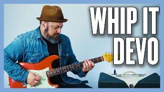 Whip It DEVO Guitar Lesson + Tutorial