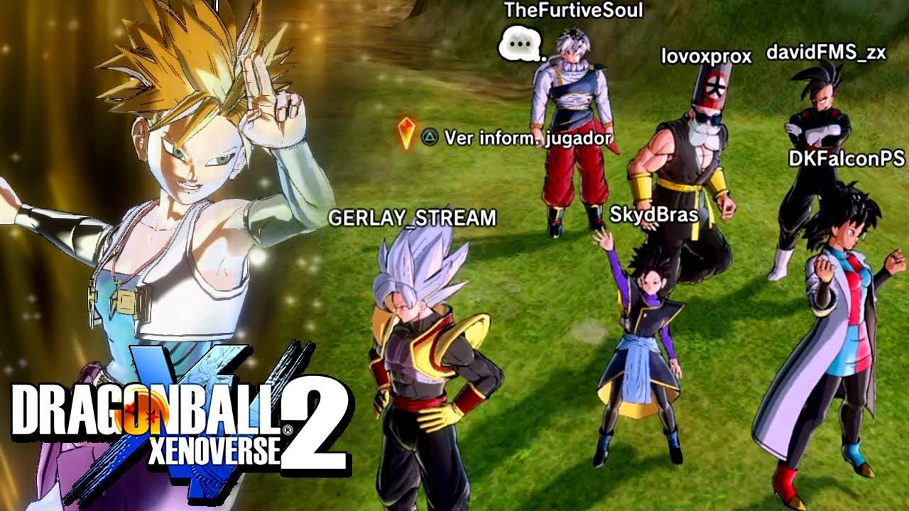 Batallas de YouTubers en Xenoverse 2 (FAILS Y MOMENTOS ÉPICOS) * Dragon Ball Xenoverse 2 Online