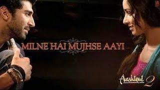 Milne Hai Mujhse Aayi (Lyrics + Chords) | Instrumental Cover (Karaoke) | Aashiqui-2