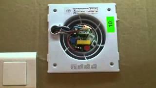 видео Вентилятор Decor 200 CH