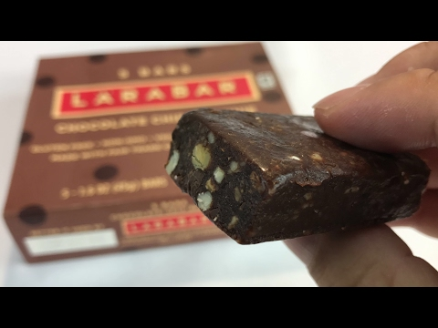 Larabar Gluten Free Chocolate Chip Brownie bar review and taste test