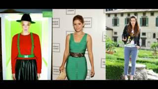 видео С чем носить зеленую юбку? Фото, сеты образов